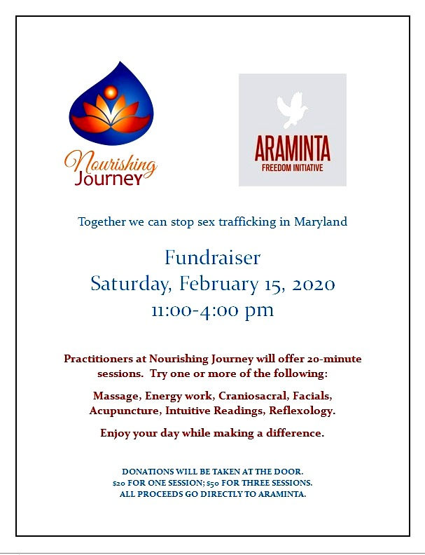 Fundraiser to stop human trafficking in Maryland